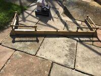 Brass ornate fender