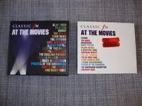 Classic FM at the Movies. Triple CD album, Classic FM at the Movies - The Sequel. Triple CD album.