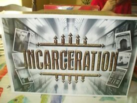 INCARCERATION BOARD GAME NEW SEALED