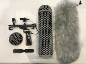 Rode Blimp V2 With Rycote ShockMount Full Windshield Kit