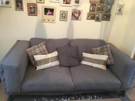Ikea Nockeby sofa & spare cover