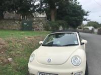 VW 2004 BEETLE CONVERTIBLE