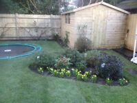 GARDEN SERVICES -ARTIFICIAL GRASS- FENCE- TURF
