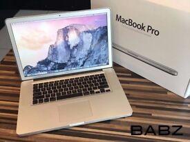 Apple Macbook Pro Intel i7 Quad Core 2.5Ghz - 500GB HD/4GB Ram - Adobe CS6/Final Cut/Logic Pro X