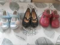 Baby girls shoes size 3