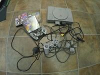 PS1 + great games!