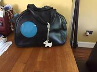 Black & blue Radley handbag