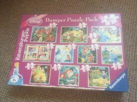 DISNEY PRINCESS BUMPER PUZZLE PACK