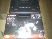 BRAND NEW IN BOX TWIN BLADE CIRCULAR SAW