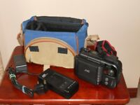 JVC Compact VHS Camcorder