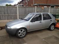 Breaking for spares Ford Fiesta 97 r reg 1.3 all parts available