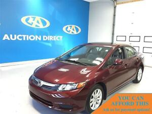 2012 Honda Civic EX (M5), AC, FINANCE NOW!!