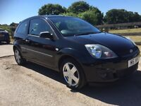 2006 ford fiesta 1.4 ZETEC CLIMATE FACELIFT,only 81k miles,mot MAY 2017