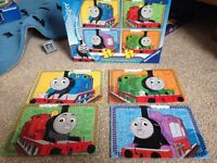 Thomas, my first puzzles, jigsaw