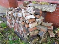 ~100 Reclaimed bricks