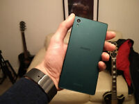 Sony Z5, 32gb, Green boxed, in excellent condition, tempered glass front and back, swap?
