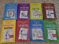 8 Diary of a Wimpy Kid Books