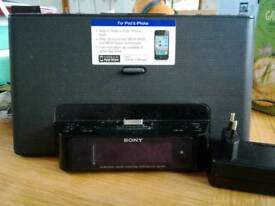 Sony iPhone and iPad docking station