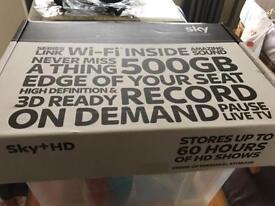 Sky receiver 500Gb