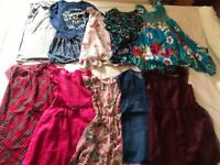 Girls age 8-9 years all season clothes bundle