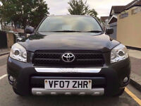 2007 4X4 Toyota Rav 4 2.2 D-4D XT-R 5 DR FSH, 1 Owner From New , P/X Welcome, HPI Clear