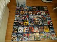 Boxed Silver PS2 slim console + 48 games bundle