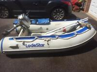 Airdeck inflatable Dinghy and outboard