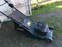 Hayter Petrol lawnmower runs spares or repairs