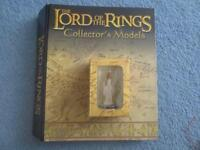 Lord of the Rings Lead Figures with magazines and stands- 145 all still boxed