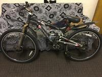 Bike in excellent condition 24 speed and both disc breaks