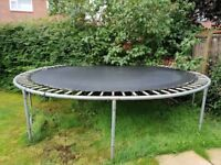 FREE TO GOOD HOME - large trampoline