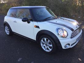 Mini One In White