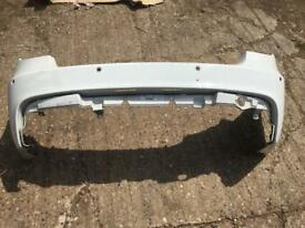 BMW 1 SERIES E81/E87 M/SPORT REAR BUMPER WITH PDC HOLES IN WHITE