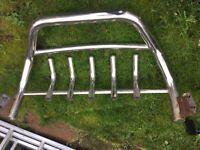 Bull Bar -Stainless Steel for Volkswagen transporter T4 and rear corner bars