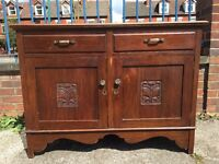 Antique / Vintage Sideboard - Antique Cabinet - Mahogany Sideboard - Very Solid & Heavy - Reduced