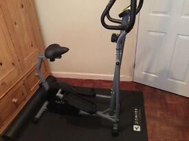 Cross trainer excercise bike