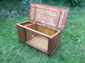 Small rabbit hutch or ferret house