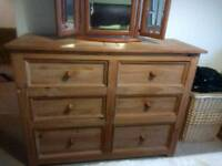 Mexican Pine chest of drawers