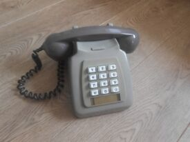 Cool retro push button phone - 1970s