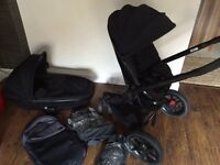 Quinny mood carry cot and stroller