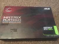 Asus Gtx 980ti matrix platinum