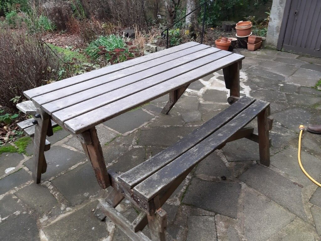 Wondrous Beautiful Bench That Turns Into A 6 Seater Table In Merchiston Edinburgh Gumtree Gmtry Best Dining Table And Chair Ideas Images Gmtryco