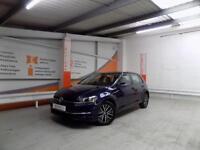Volkswagen Golf SE NAVIGATION TSI BLUEMOTION TECHNOLOGY (blue) 2017-05-26