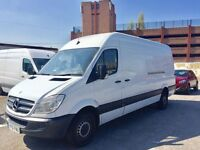 Immaculate Condition 61 Reg Mercedes Sprinter LWB with 2 Keys FSH and Previous MOT