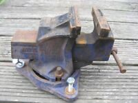 """Record No1 Engineers Vice 4"""" with swivel head"""