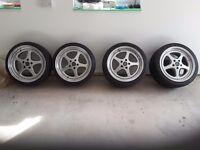 8.5x18 Schmidt Race 2000 Alloy Wheels