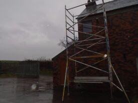 boss scaffold tower 7m