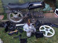 Honda CB125T (project, spares, repairs)