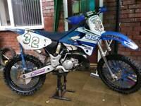 Yamaha YZ125 swap for bigger bike
