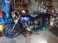 Suzuki GS550 e , 1983. been in my garage 20 years in running order. £900 ono